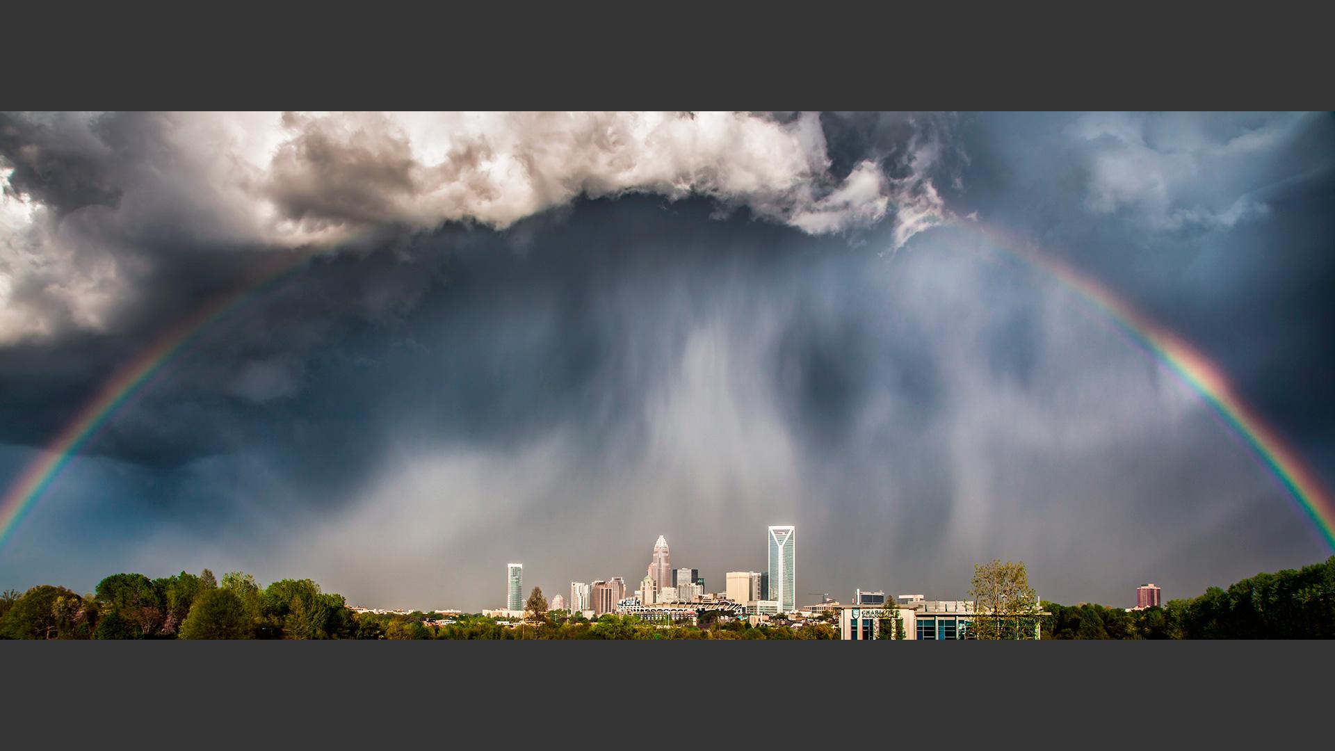 Quot Rainbow Over Charlotte Quot Chris Austin Photographer